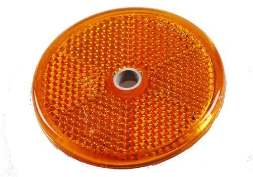 JMP Rückstrahler rund gelb Anhänger 10203